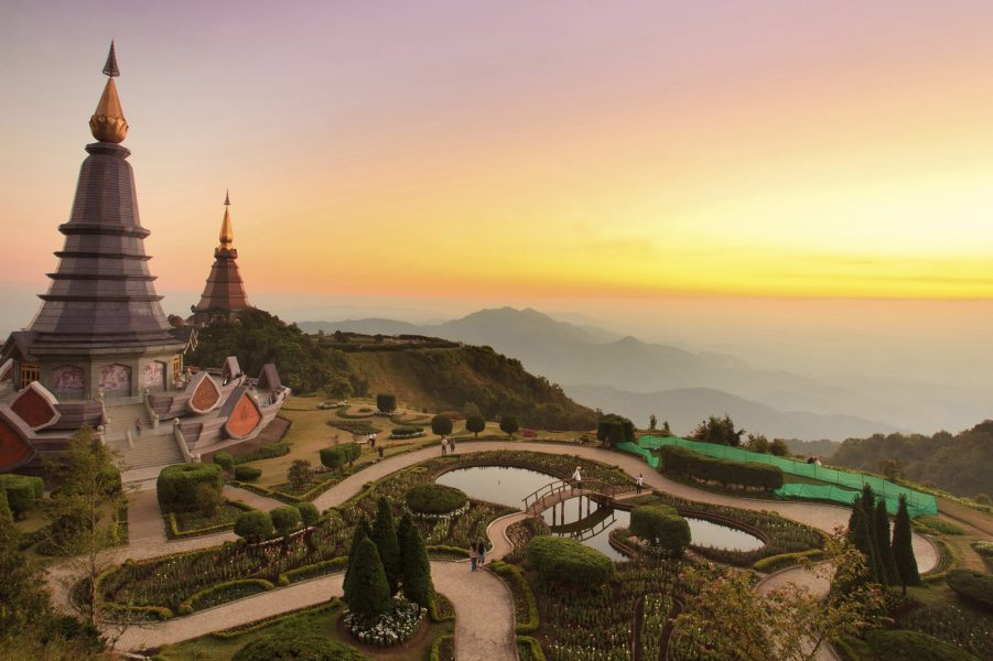 Economy class flights to Chiang Mai from the UK