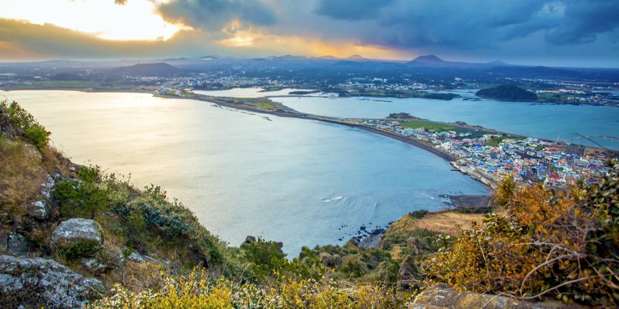 Economy class flights to Jeju Island from Dublin