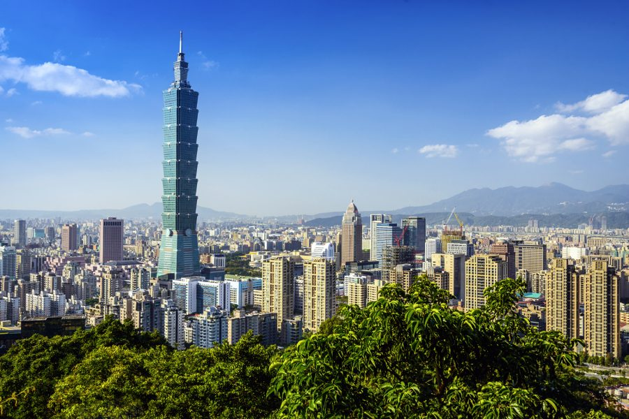 Economy class flights to Taipei, Taiwan from the UK