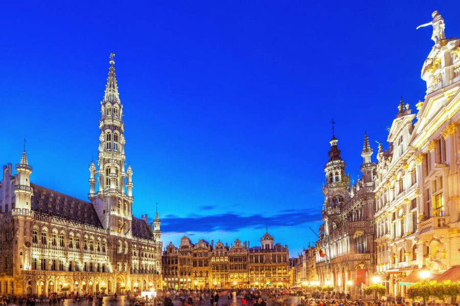 Sightseeing grand place